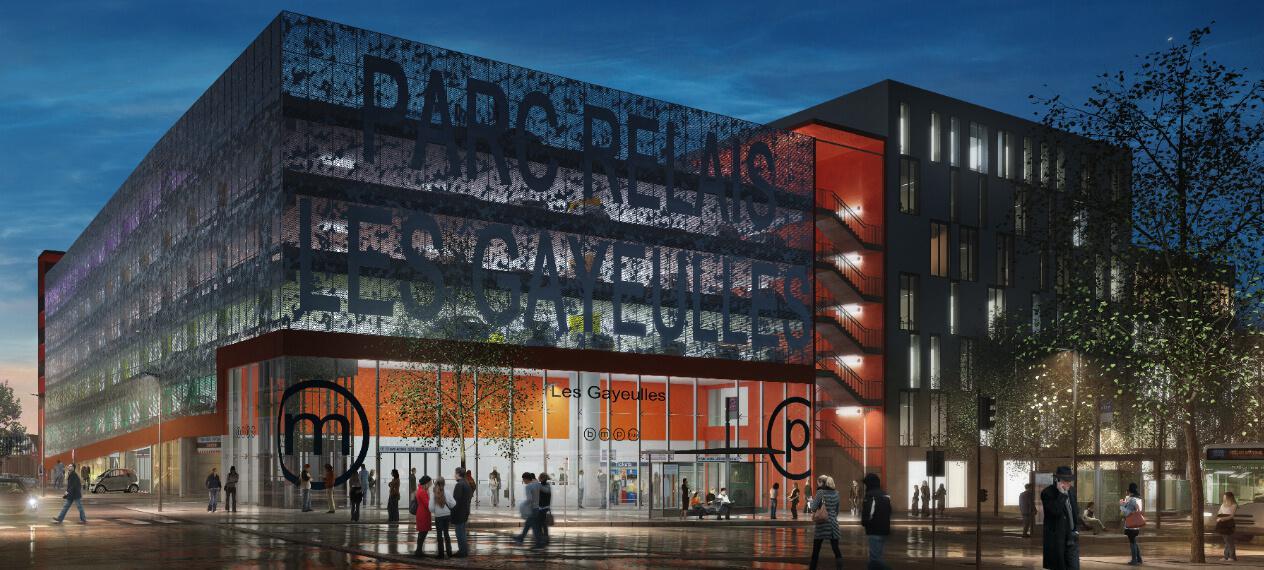 Future station de metro Les Gayeulles