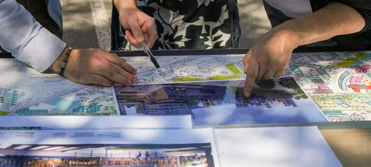 Démarches participatives projet urbain Maurepas Rennes